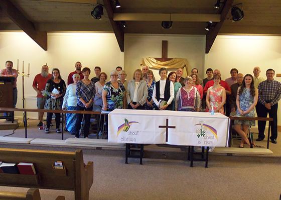 2017 Easter Cantata Choir