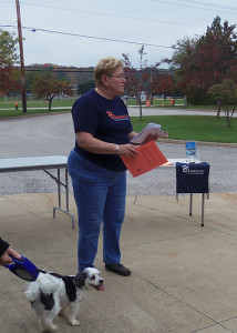 Representative from Pawsibilities, the Humane Society of Greater Akron
