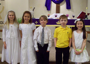 First Holy Communion 2015-10