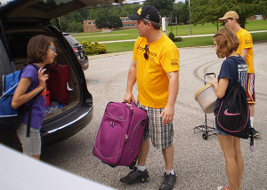 Packing the van - 4