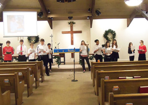 12132015 Youth Choir - 1