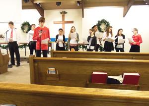 12132015 Youth Choir - 2
