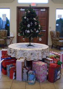 2015 Angel Tree gifts