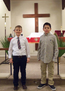 First Communion - March 24, 2016