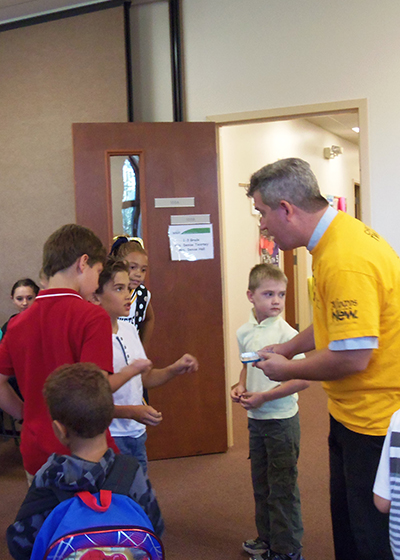 2016 Backpack Blessing