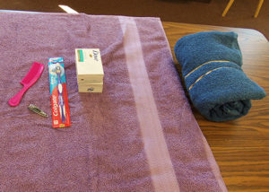 Sample Personal Care Kit