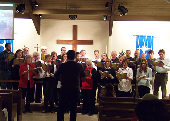 2016 Christmas Cantata Choir