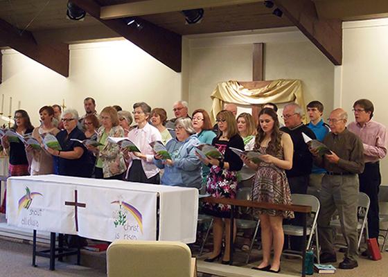 2017 Easter Cantata 1