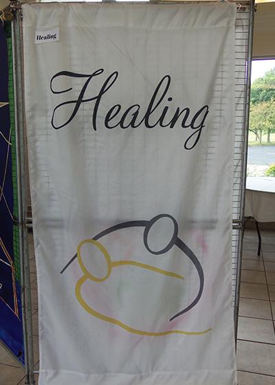 Healing Service Banner
